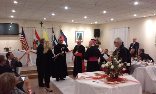 Pictures from event with Archbishop Aquila and Metropolitan Isaiah