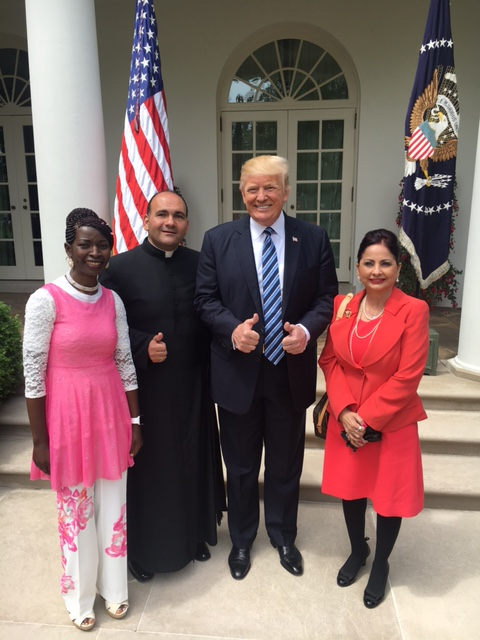 White House morning national day of prayer