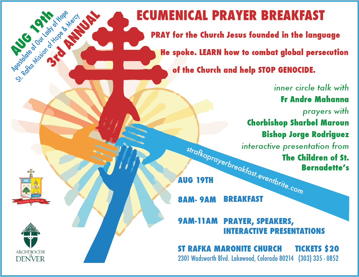 3rd Annual International Ecumenical Prayer Breakfast