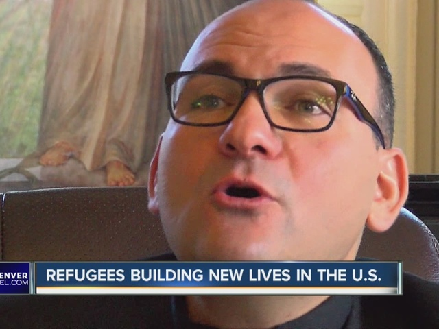 Local pastor at St. Rafka Maronite helps refugees from Iraq and Syria