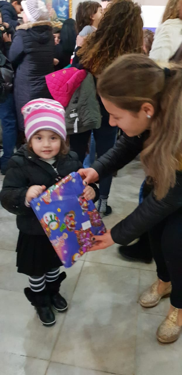 2018 CHRISTMAS – 2019 Epiphany Gifts And Food Drive- Refugees of the Chaldean Church of Lebanon